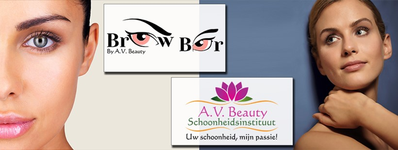 Banner A.V. Beauty & Brow Bar